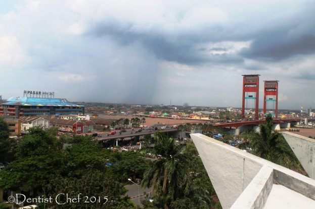 ampera bridge palembang south sumatra landmark city local rain toyota agya blog contest