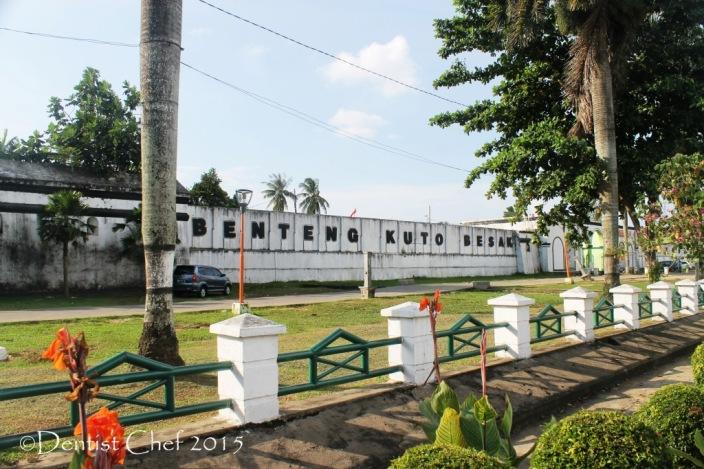 benteng kuto besak palembang fort toyota agya blog contest