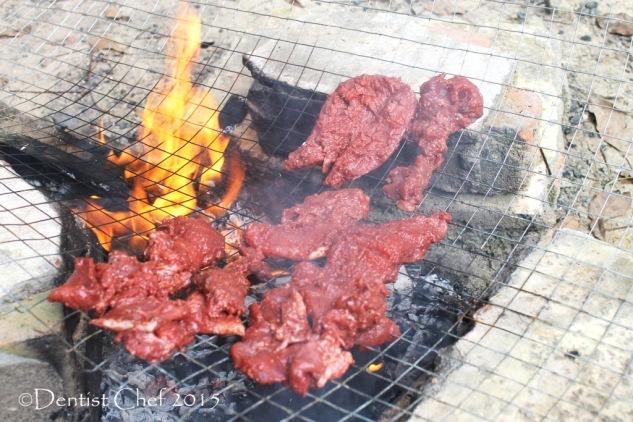 cara membuat daging sei se'i asap ntt babi sapi rusa