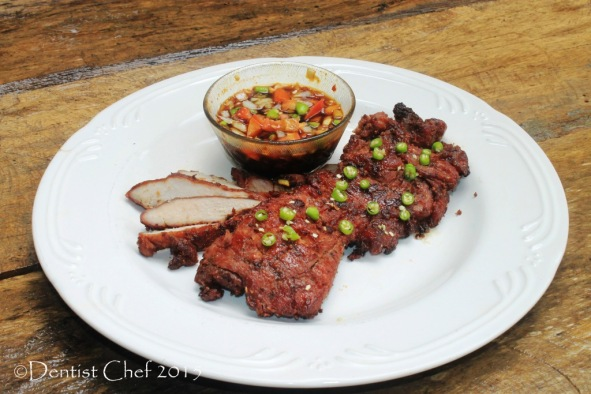 daging sei asap ntt babi asap hot smoked pork recipe cured tenderloin