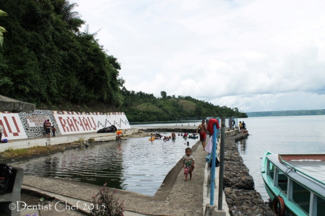danau ranau pemandian air panas indonesian volcanic spring hot water lake agya blog competition