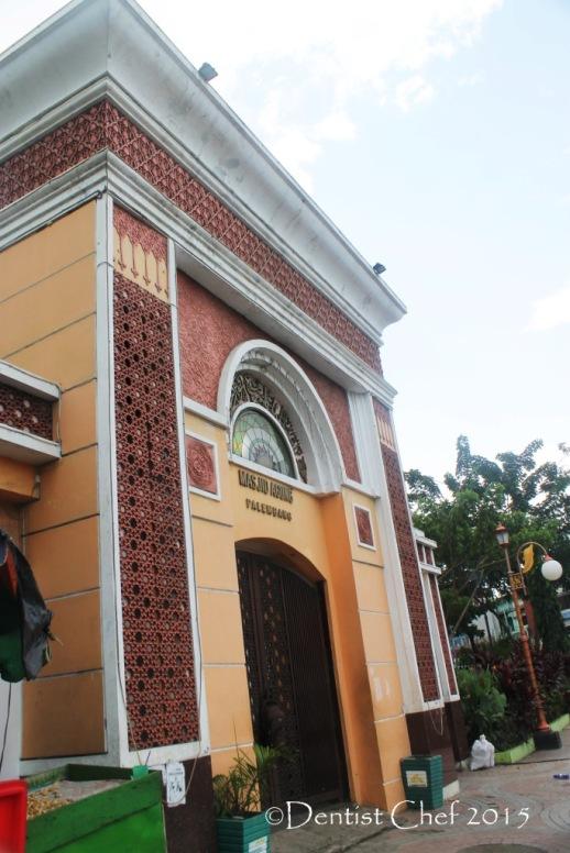 gerbang utama mesjid agung palembang toyota agya blog contest