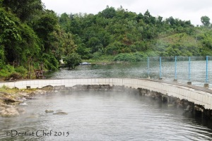 hot spring water volcano ranau lake south sumatra danau ranau pemandian air panas agya blog competition