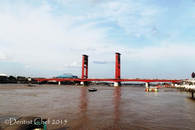 jembatan ampera palembang ampera bridge
