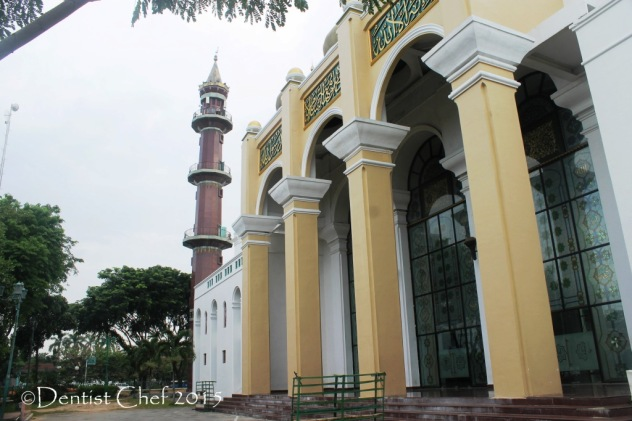 masjid agung palembang eksterior awesome great mosque palembang toyota agya blog contest