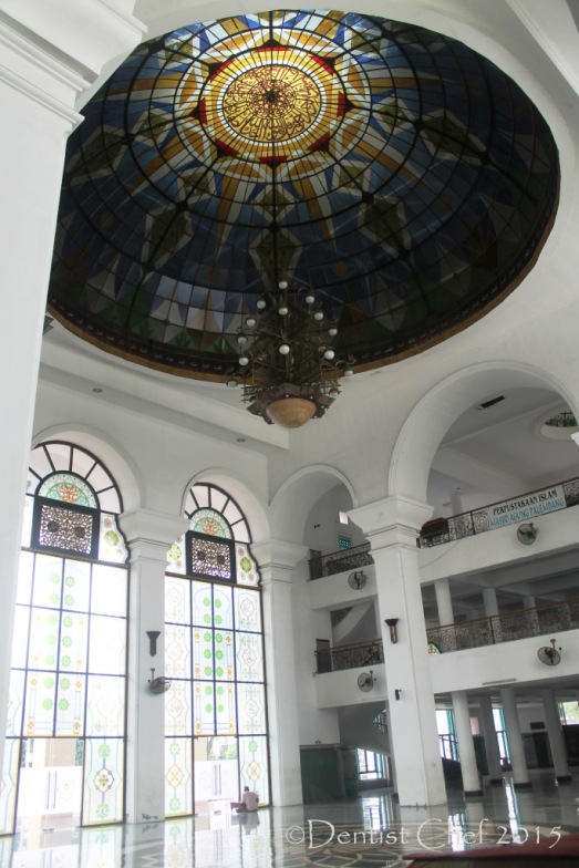 Masjid Agung Palembang Interior Great Mosque Palembang City toyota agya blog contest