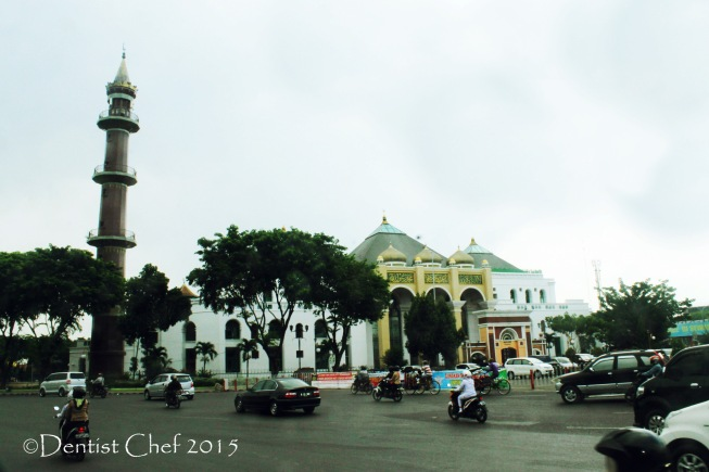 mesjid agung palembang great mosque south sumatra