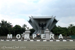 Monpera palembang Monumen perjuangan rakyat sumatera selatan toyota agya blog contest