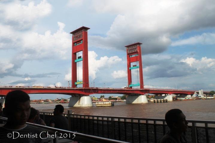 palembang dermaga point jembatan ampera toyota agya blog contest