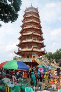 pulau kemarau menara pagoda 9 lantai palembang kelenteng Hok Tjing Rio buddhist temple toyota agya blog contest