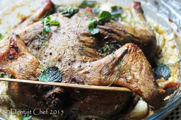 recipe crispy roasted chicken skin blowing air before oven roast separate skin yogurt milk curd