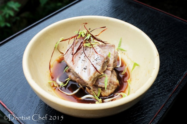 recipe wagyu ponzu soy sauce japanese kobe beef sous vide slow cooked recipe