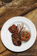 resep daging se'i asap sapi babi ntt hot smoked beef pork venison meat strips