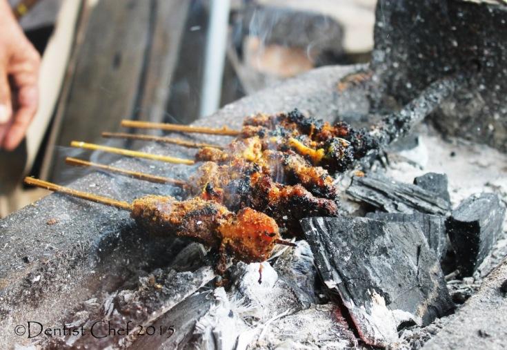 resep sate daging sapi manis wak din palembang pangkal jembatan ampera