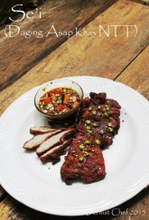 resep sei daging asap babi sapi rusa khas nusa tenggara timur ntt recipe hot smoked pork beef venison deer cured meat