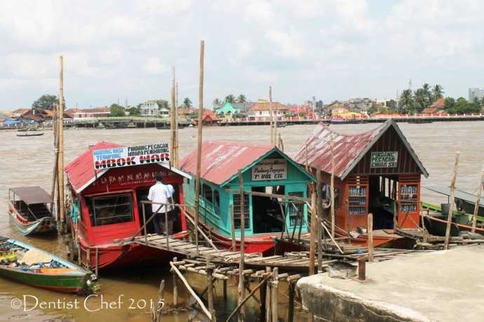 restaurant in the river musi boat fish soup restaurant musi river toyota agya blog contest