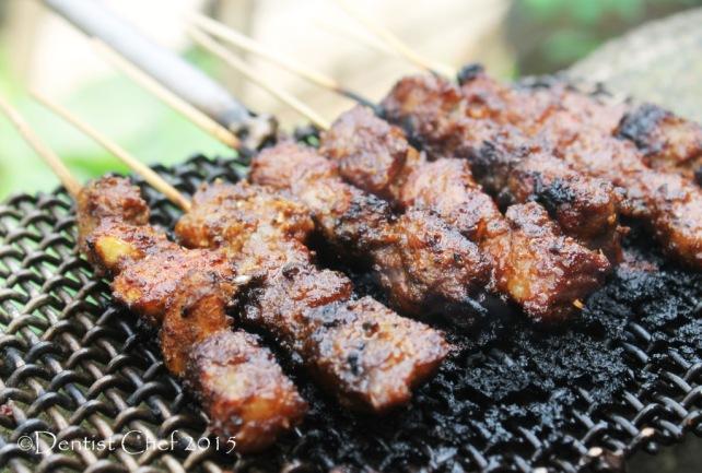 tamarind marinated beef satay grilled beef skewer satay tamarind soy sauce glazed sate sapi manis kecap