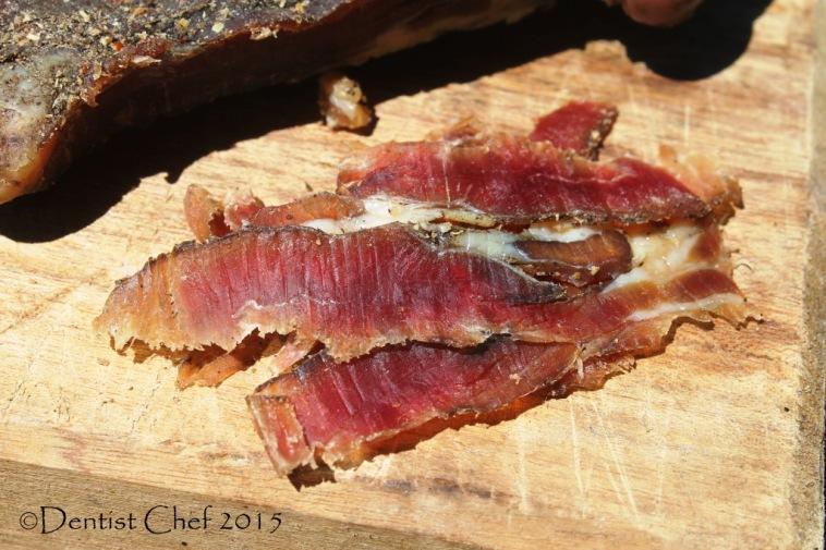 prosciutto di capra goat ham dry cured whole mutton goat lamb leg homemade charcuterie