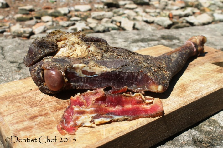 recipe goat prosciutto violino di capra mutton leg whole goat ham dry cured homemade charcuterie