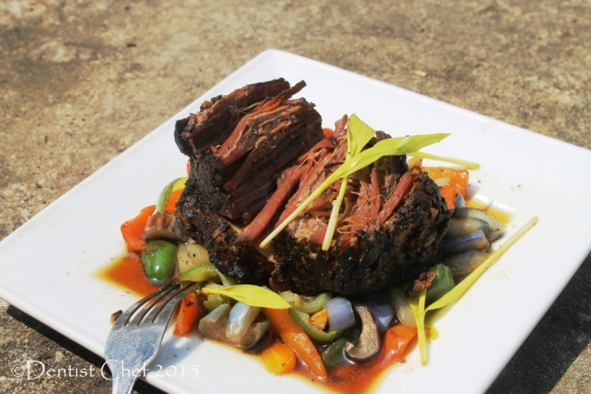 French recipe beef confit poitrine de boeuf recipe