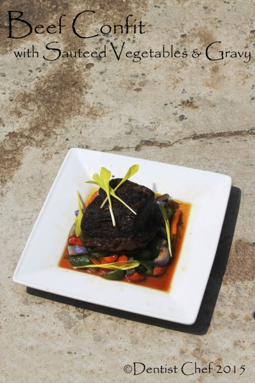 recipe beef confit recipe how to braised beef brisket in duck fat fork tender melted confit poitrine de boeuf