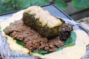 beef wellington porcini Duxelles mushrooms morel porcini chanterelle boeuf en croute foie gras liver pate