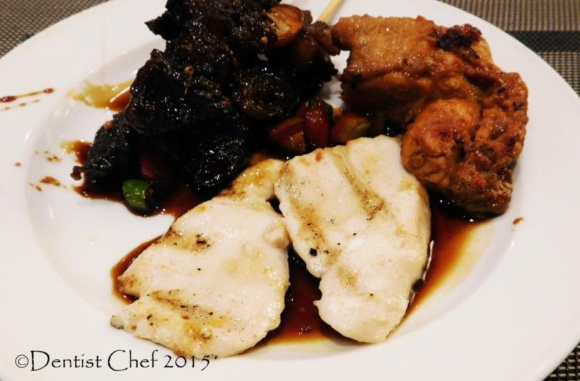 grilled dory fillet ikan bakar dori kecap manis Cerenti Restaurant Grand Zury BSD City Hotel Tangerang