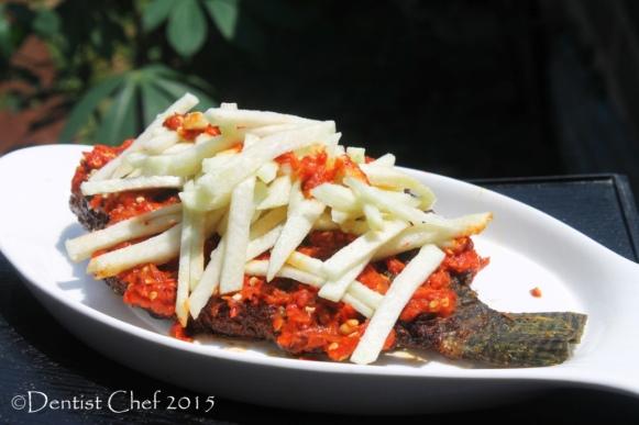 grilled tilapia fish spicu chili guava salsa