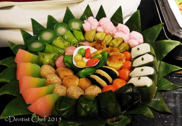 indonesian dessert sweet bites kue tradisional jajan pasar Cerenti Restaurant Grand Zury BSD City Hotel Tangerang