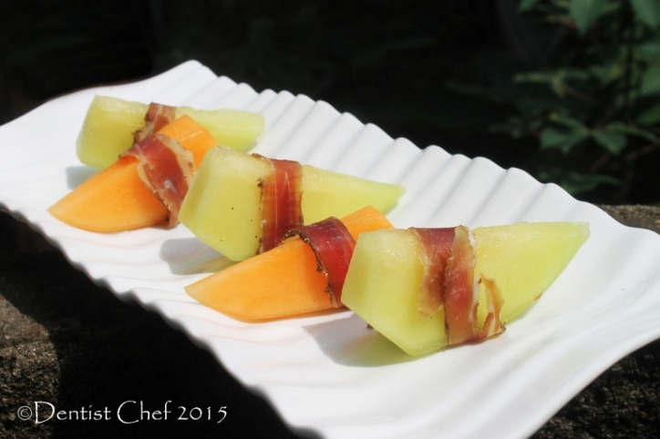 melon wrapped prosciutto appetizer sunpride melon