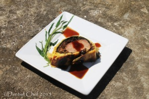 recipe beef wellington tenderloin filet mignon boeuf en croute spinach mushrooms prosciutto foie gras