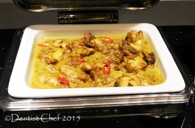 terik ayam semarang yellow chicken curry Cerenti Restaurant Grand Zury BSD City Hotel Tangerang