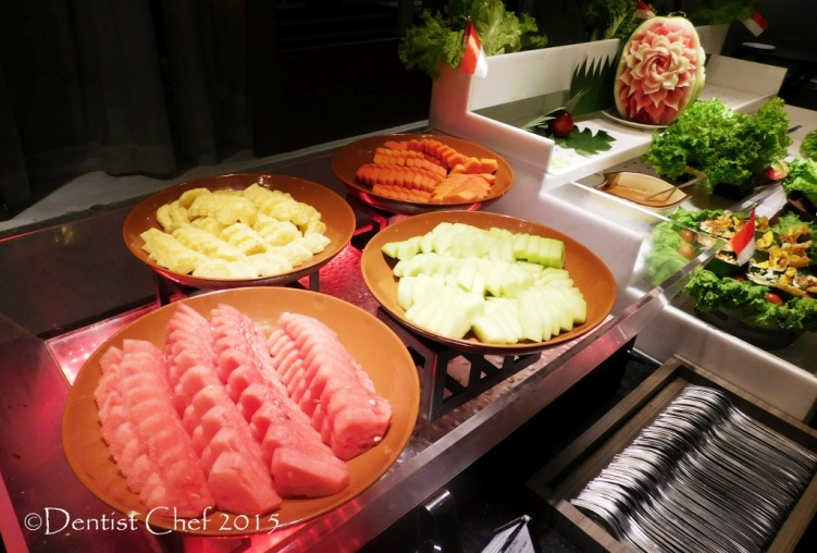 tropical fruit buffet hotel Cerenti Restaurant Grand Zury BSD City Hotel Tangerang