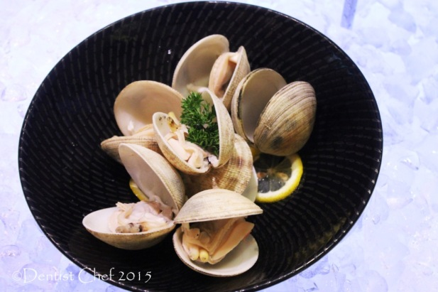 boiled cockle clams seafood platter buffet signatures restaurant kempinski hotel jakarta