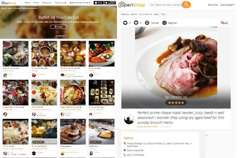 buffet all you can eat jakarta opensnap satoo shangri la hotel jakarta