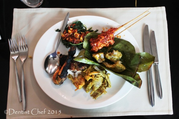 dentist chef balinese cuisine review