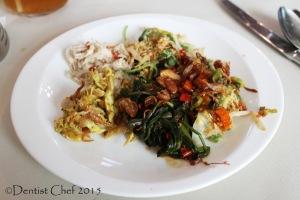dentist chef restaurant review signatures kempinski hotel indonesia
