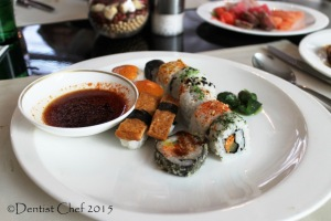 dentist chef sushi selection signatures restaurant kempinski hotel indonesia
