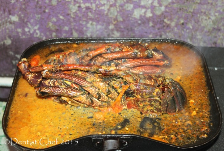 lobster curry recipe spicy coconut spinny lobster curried chili garlic turmeric grilled lobster