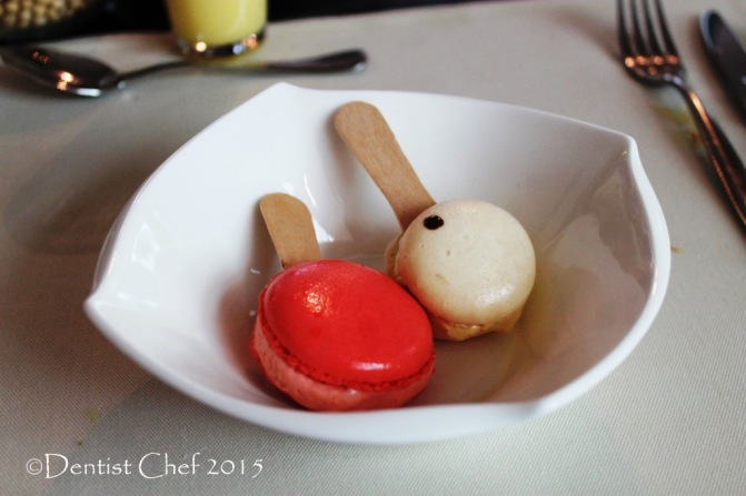 maccaron ice cream sandwich signatures restaurant Kempinski hotel indonesia jakarta