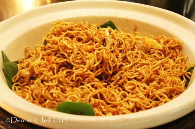 Mie kober denpasar spicy hot bali noodle signatures restaurant Kempinski hotel indonesia jakarta