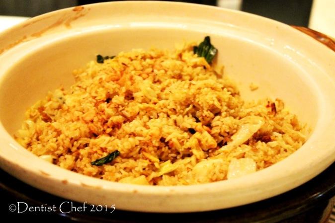 Nasi goreng bali balinese fried rice signatures restaurant Kempinski hotel indonesia jakarta