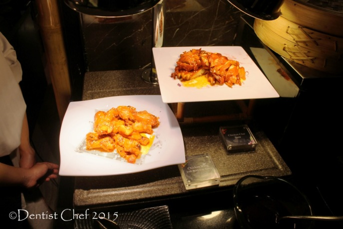 roasted chicken wings roasted duck char siew red chinese style roast signatures restaurant Kempinski hotel indonesia jakarta