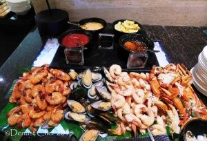seafood buffet signatures restaurant kempinski hotel indonesia