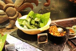 tum ayam steamed chicken signatures restaurant Kempinski hotel indonesia jakarta