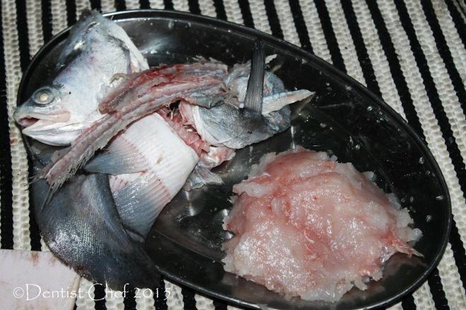 ikan belida daging pempek empek empek palembang