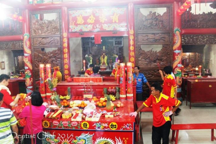 kelenteng kwan im pulo kemaro vihara palembang kuil dewi kwan im