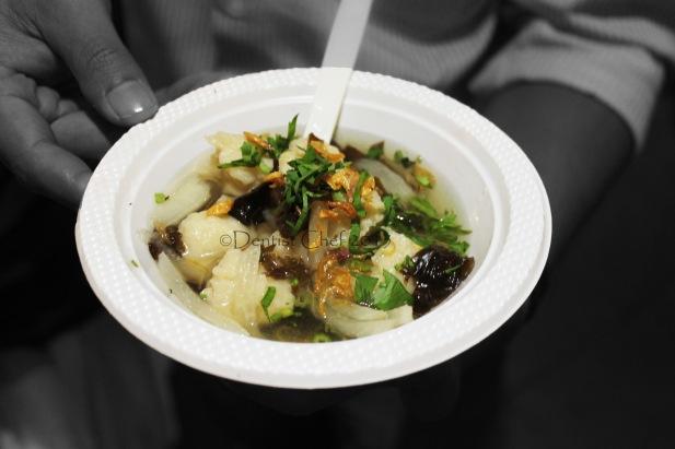 tekwan palembang sup ikan udang