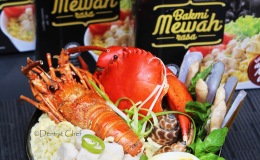 Resep Mie Celor Lobster Bakmi Mewah Khas Palembang (Three Ways)